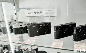 日本东京的二手相机店 相机挖宝+日本相机二手制度